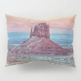 MONUMENT VALLEY AT SUNSET Pillow Sham