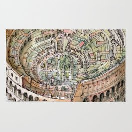 The Colosseo City Rug