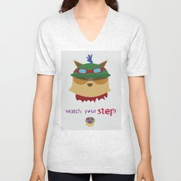 Watch Your Step Unisex V-Neck