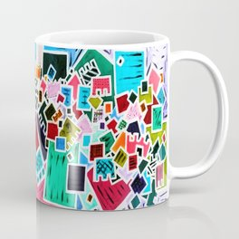 Tate - Created by a Genius (Square/Sym/Red/Inv) Coffee Mug