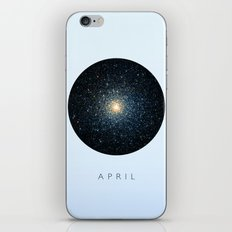 April inspired iPhone & iPod Skin
