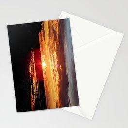 Ground Level Sunset Stationery Cards