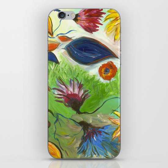 Flower Swirls iPhone & iPod Skin