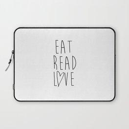 Eat Read Love Laptop Sleeve