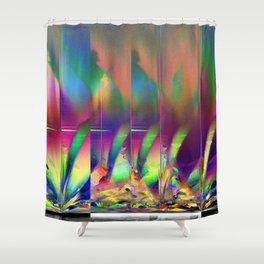 firework III Shower Curtain