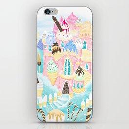 Ice cream Castle iPhone Skin
