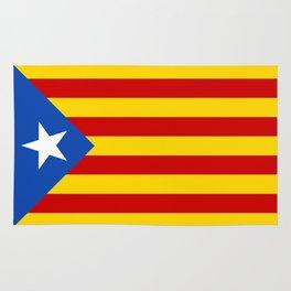 Estelada Blava - Senyeraestelada, HQ Banner version Rug