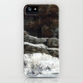 """Gustave Courbet """"The Winter (L'Hiver)"""" iPhone Case"""