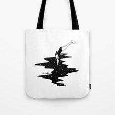 dive into the space Tote Bag