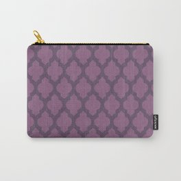 Purple Moroccan Carry-All Pouch