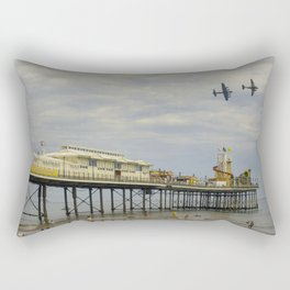 Paignton Pier Memorial Flight Rectangular Pillow