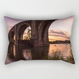 CSX A-Line Sunset Rectangular Pillow