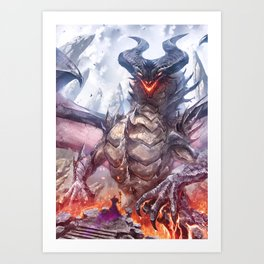 A pact between overlords Art Print