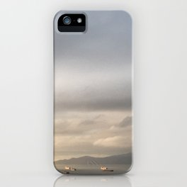 Grey Barges iPhone Case