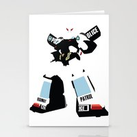 transformers Stationery Cards featuring Transformers G1 - Autobot Prowl by TracingHorses