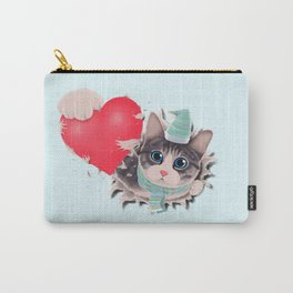Steal Heart (light) Carry-All Pouch