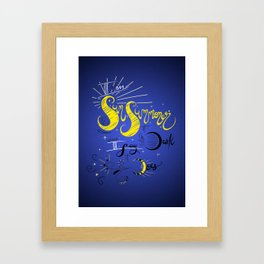 Alina Starkov Sun Summoner - The Grisha Trilogy Framed Art Print