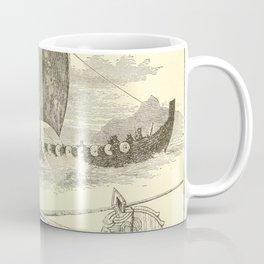 Vintage Vikings Artwork and Illustrations Coffee Mug
