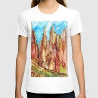 southwest T-shirts featuring Rocky Southwest by Rosie Brown