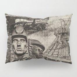 Mining Tribute Antique 1 Pillow Sham