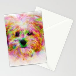 Terrier of Many Colors Stationery Cards