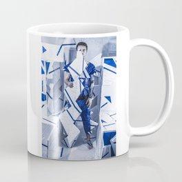 Blue/White Runway Coffee Mug