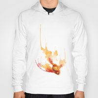 goldfish Hoodies featuring GoldFish by Carlos Asensi