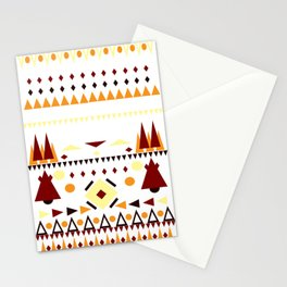 Fall Paterns Stationery Cards