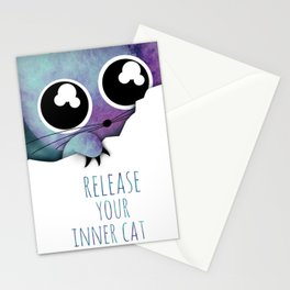 inner cat /Agat/ Stationery Cards