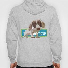 """WOOF"" ~ Dachshund, Weiner Dog, Doxie, everywhere! Hoody"
