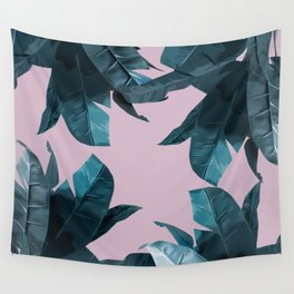 Tropical Palm Print #2 Wall Tapestry