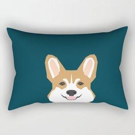 Teagan - Corgi Welsh Corgi gift phone case design for pet lovers and dog people Rectangular Pillow