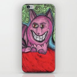 the magnificent Mr. Cheshire cat  iPhone Skin