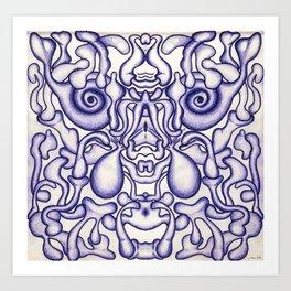 Mind-Brain Art Print