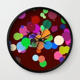 Circles #11 - 03162017 Wall Clock
