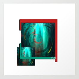 Usha Art Print