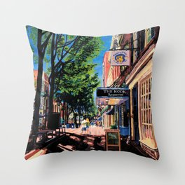 Lovers, C-ville, VA Throw Pillow