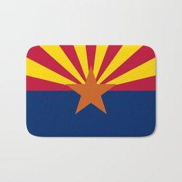 Arizona State flag, Authentic scale & color Bath Mat