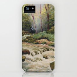 In the shade of the undergrowth iPhone Case