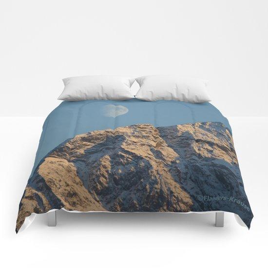 Moon Over Pioneer Peak - II Comforters