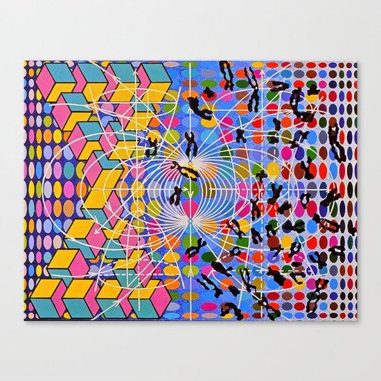 Simstim Canvas Print