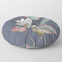 Lotus Symphony Floor Pillow