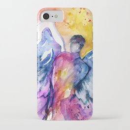 Luke Angel by Kathy Morton Stanion iPhone Case