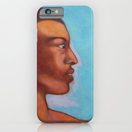 Khalid in Michelangelo mood iPhone Case