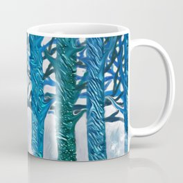 The forest of fireflies Coffee Mug