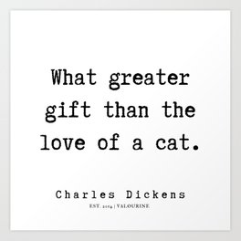 12      Charles Dickens Quotes   190727 Art Print