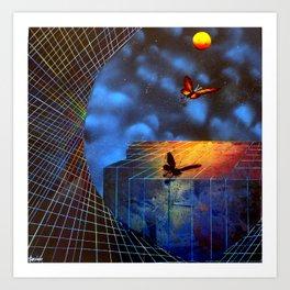 The Evolution of Dreams Art Print