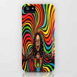Like a Rainbow in the Dark iPhone Case
