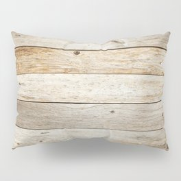 Rustic Barn Board Wood Plank Texture Pillow Sham