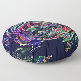 Color Rush Floor Pillow